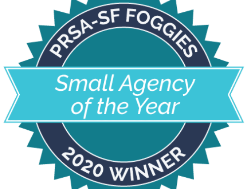 PRSA San Francisco Recognizes Singer Associates as Winner of the Small Agency of the Year Award 2020 in the Annual Chapter Awards, The Foggies